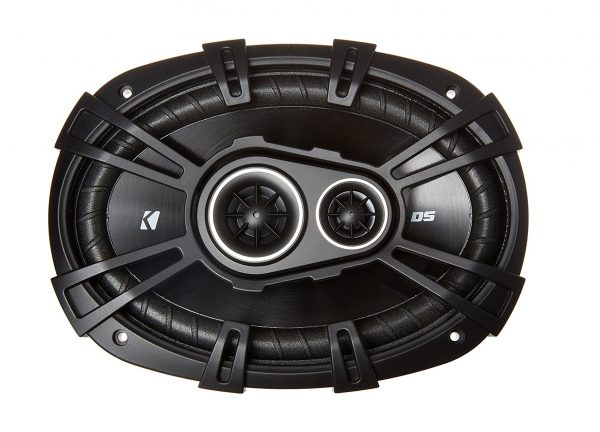 8. New Kicker 43DSC69304 D-Series, 360 Watt 3-Way Car Audio Coaxial Speakers