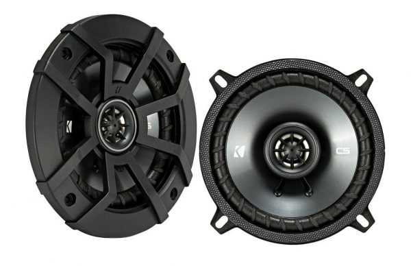 9. 225W 2 Way 4 Ohm Coaxial Car Audio Speakers, Pair