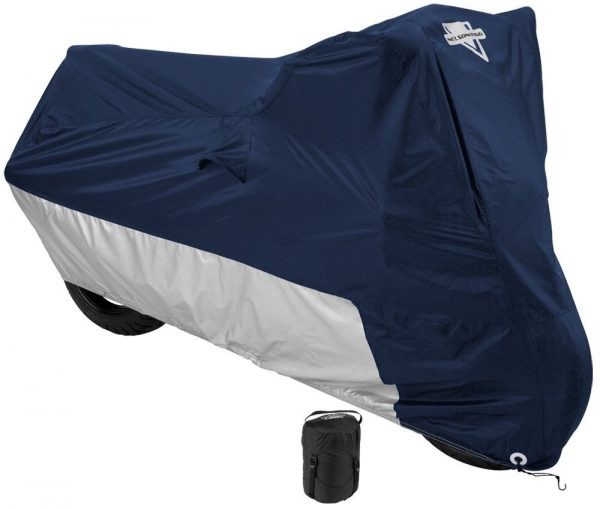 1. Nelson-Rigg Deluxe Motorcycle Cover, Weather Protection, UV