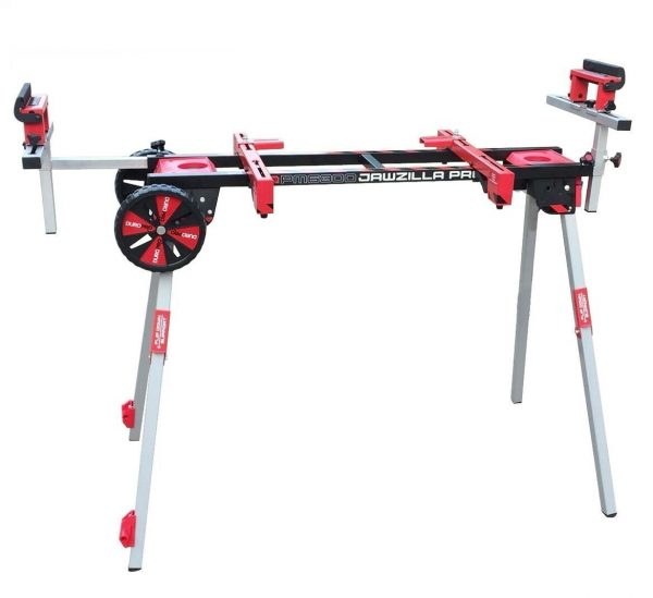 10. 909 PM6300W Miter Saw Work Stand Power Perfect for Benchtop Tools with Wheels