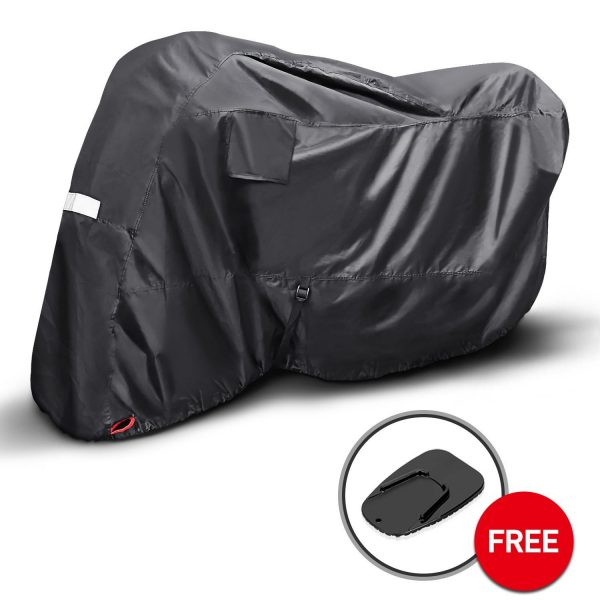 10. KAKIT Motorcycle Cover for Sportbike,Dustproof 210D Polyester Fabric