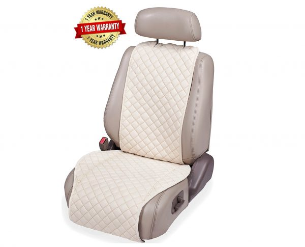 3. IVICY Car Seat Cover + Bonus = Universal Protector for Front Car Seats