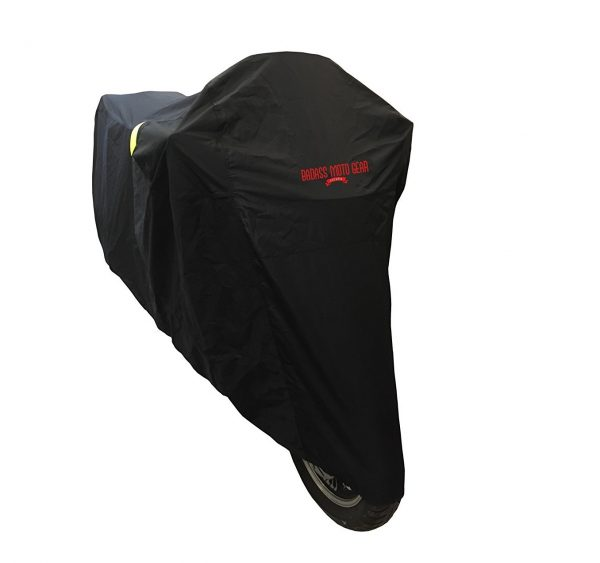 4. Badass Moto Gear All Wx Waterproof Motorcycle Cover; Heavy Duty