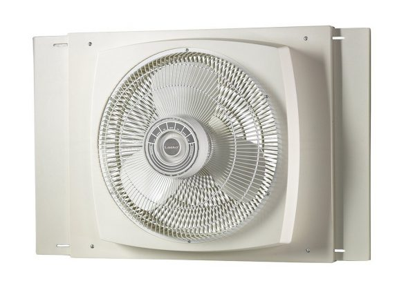 6. Lasko 2155A Electrically Reversible Window Fan, 16-Inch