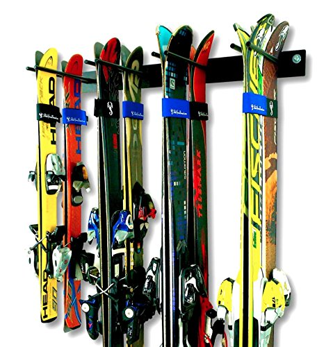 7. Ski Wall Storage Rack