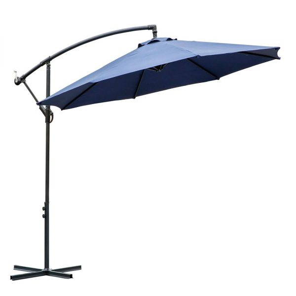 8. 10 ft offset cantilever patio umbrella outdoor market hanging umbrellas