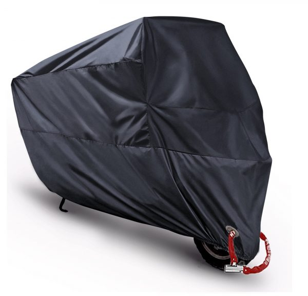 8. Motorcycle Cover Waterproof Motorbike Scooter Shelter Outdoor Dustproof All Weather Protection,Anti-theft Copper Lock Holes