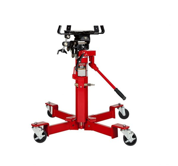 8. Sunex 7796 1000-Pound Air and Hydraulic Telescopic Transmission Jack