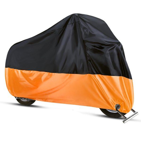 9. Sanku Waterproof Motorcycle Cover All Season Protection Outdoor Storage Bag