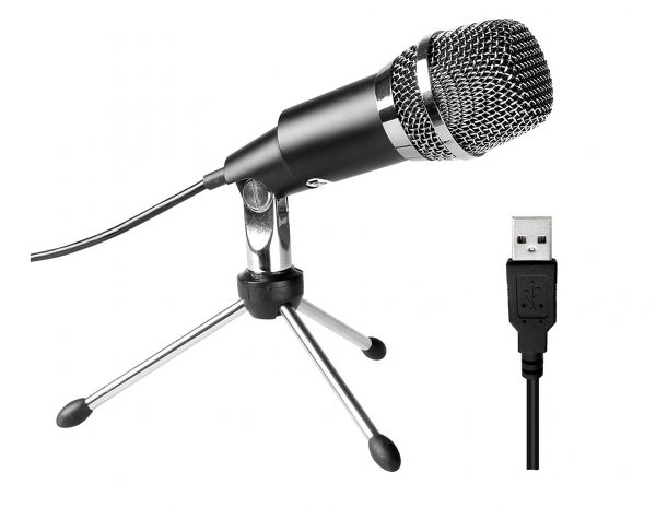 1. FIFine USB Microphone, Plug &Play Home Studio USB Condenser Microphone for Skype