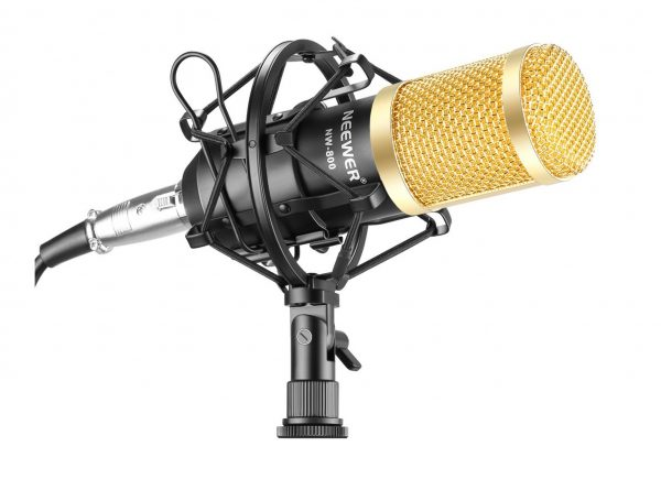 1. Neewer NW-800 Professional Studio Broadcasting & Recording Microphone Set Including