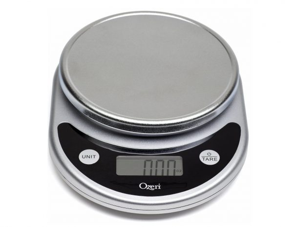 1. Ozeri ZK14-S Pronto Digital Multifunction Kitchen and Food Scale, Elegant Black