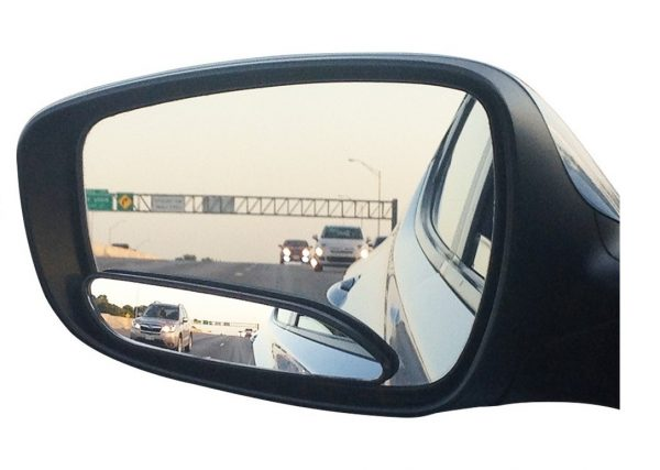 2. Blind Spot Mirrors. long design Car Mirror for blind side by Utopicar for traffic safety