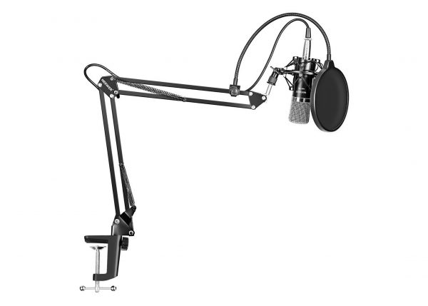 2. Neewer NW-700 Professional Studio Broadcasting Recording Condenser Microphone