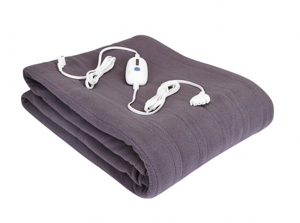 2. Utopia Bedding Luxurious Micro-Fleece Electric Blanket