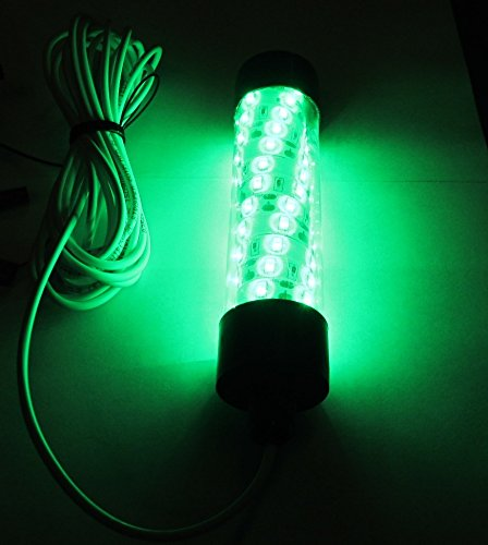 3. 12V LED GREEN UNDERWATER SUBMERSIBLE NIGHT FISHING LIGHT crappie squid boat