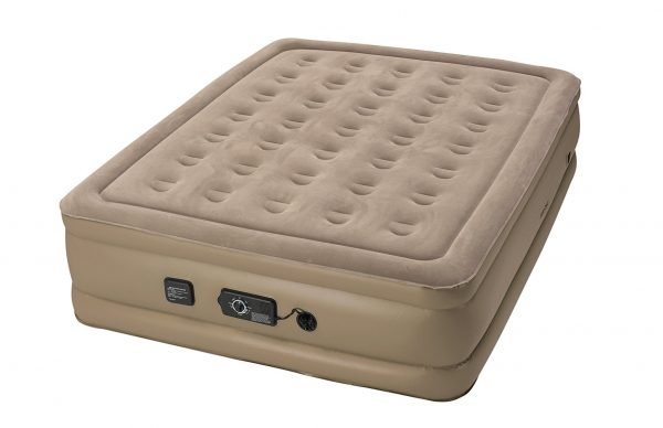 3. Insta-Bed Raised Air Mattress with Never Flat Pump