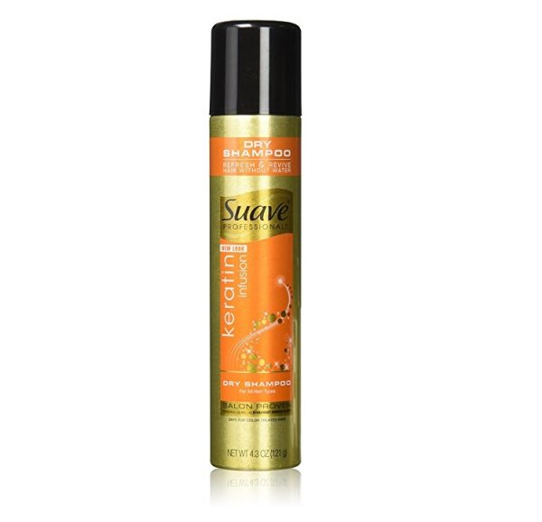 3. Suave Professionals Dry Shampoo, Keratin Infusion 4.3 ounce