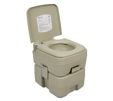 4. Palm Springs Outdoor 5 Gal Portable Outdoor Camping Recreation Toilet