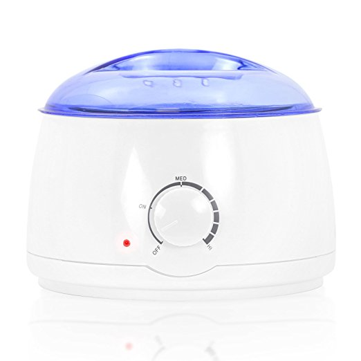 4. Salon Sundry Portable Electric Hot Wax Warmer Machine for Hair Removal - Blue Lid