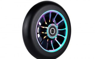5. 1PCS 110mm Pro Stunt Scooter Wheel with Abec 9 Bearings for MGP