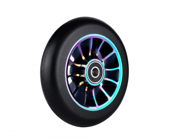 Kutrick Complete 2pcs 110mm Pro Stunt Scooter Replacement Wheels with ABEC-11 Bearing