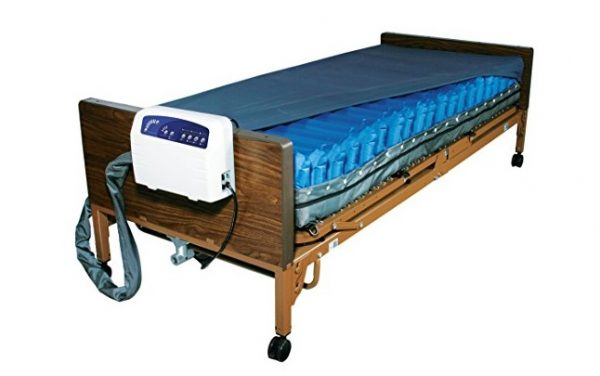 5. Drive Medical Med Aire Low Air Loss Mattress Replacement System with Alarm