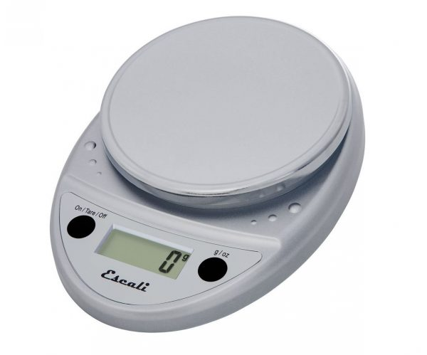5. Escali P115C Primo Digital Multifunctional Food Scale, Chrome