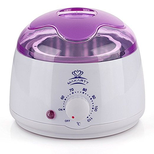 5. Makartt Hair Removal Wax Warmer Melter Heater Electric 14 oz Waxing Depilatory Machine For Facial Skin Body Hand Foot Leg Hair Remover