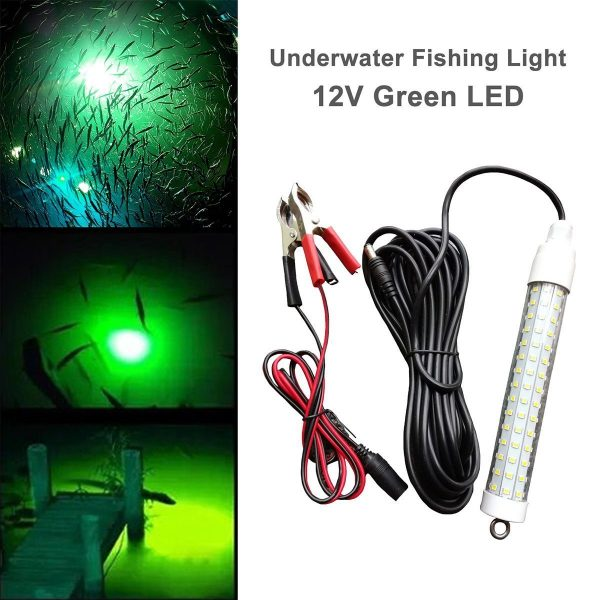 7. LinkStyle 12V 120 LED 1000 Lumens Lure Bait Finder