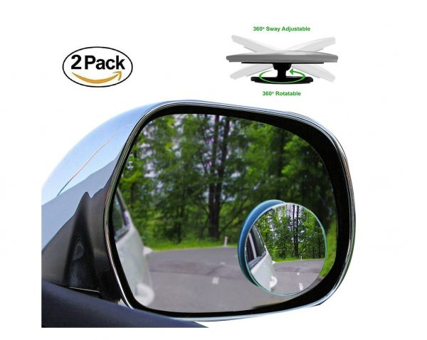 8. 2 Pack Blind Spot Mirrors Car Accessories By Lebogner