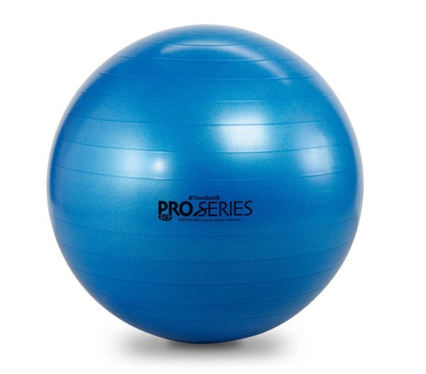 8. TheraBand Exercise Ball, Professional Series Stability Ball with 75 cm Diameter for Athletes