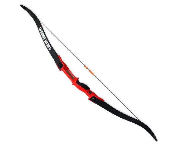 8. WOARCHERY Combat Archery Takedown Right-Left Handed 25LBS Recurve Bow