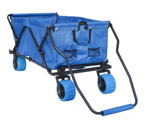 9. Impact Canopy 440060003 XL All Terrain Beach Wagon, Extra Large, Royal Blue