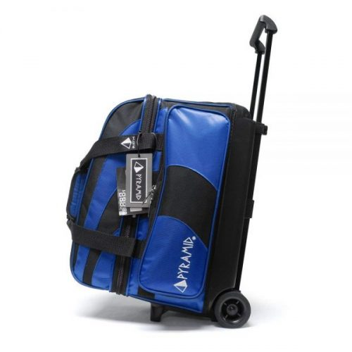 2. Pyramid Path Deluxe Double Roller Bowling Bag