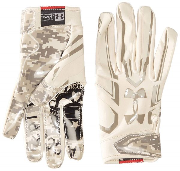 8. Under Armour Men's F5 – Limited Edition Football Gloves