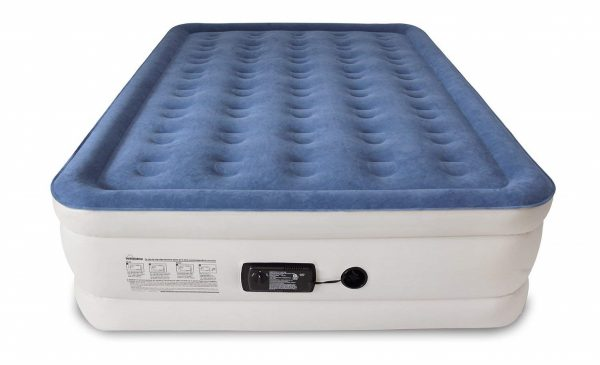 1. SoundAsleep Dream Series Air Mattress with ComfortCoil Technology & Internal High Capacity Pump - Queen Size