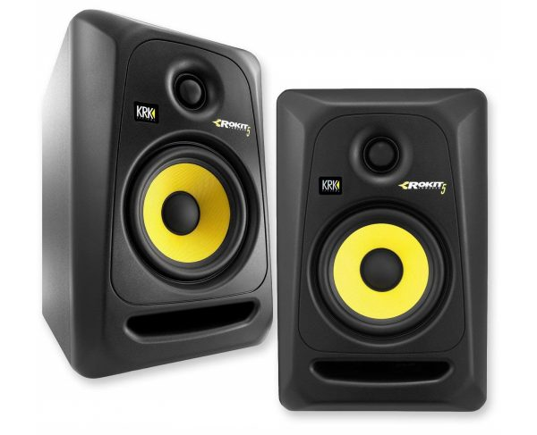 10. KRK RP5G3- 59107 NA Rokit 5 Generation 3 Powered Studio Monitor - Pair