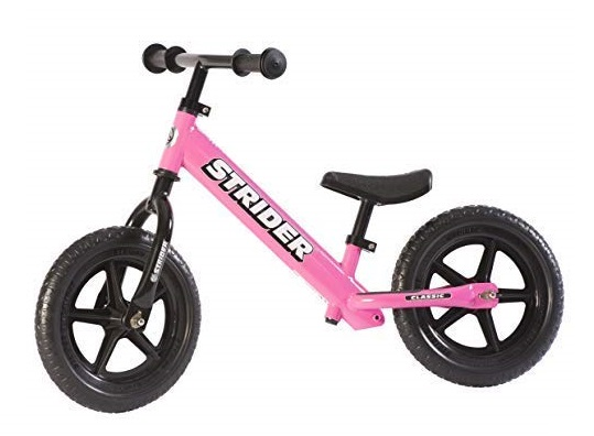 2. Strider - 12 Classic Balance Bike, Ages 18 Months to 3 Years