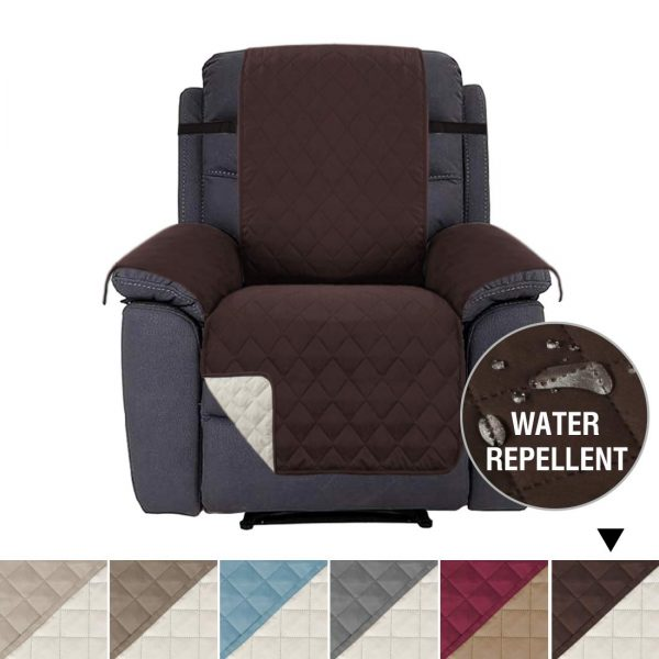 3. H.VERSAILTEX Recliner Cover Recliner Slipcover Recliner Protector for Pets, Reversible and Thick