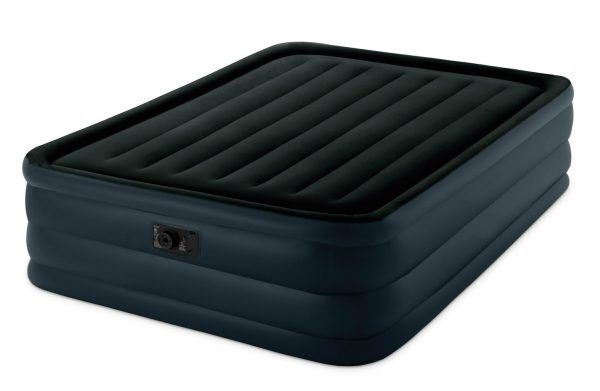 3. Intex Raised Downy Airbed with Built-in Electric Pump, Queen, Bed Height 22