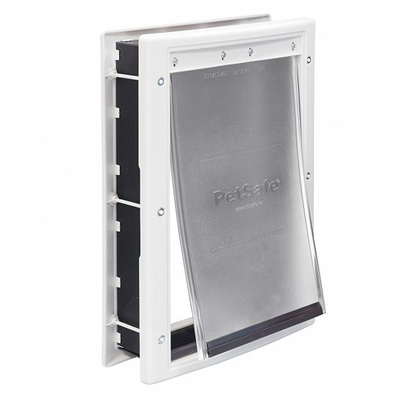 3. PetSafe Plastic Pet Door with Soft Tinted Flap