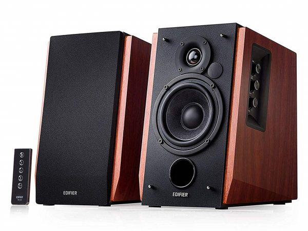 4. Edifier R1700BT Bluetooth Bookshelf Speakers - Active Near-Field Studio Monitors