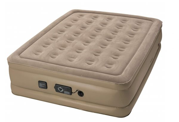 4. Insta-Bed Raised Air Mattress with Never Flat Pump