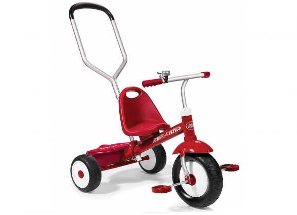 5. Radio Flyer Deluxe Steer and Stroll Trike