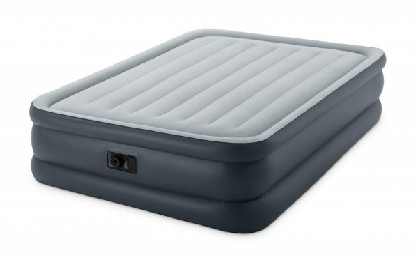 6. Intex Dura-Beam Standard Series Essential Rest Airbed with Built-in Electric Pump, Bed Height