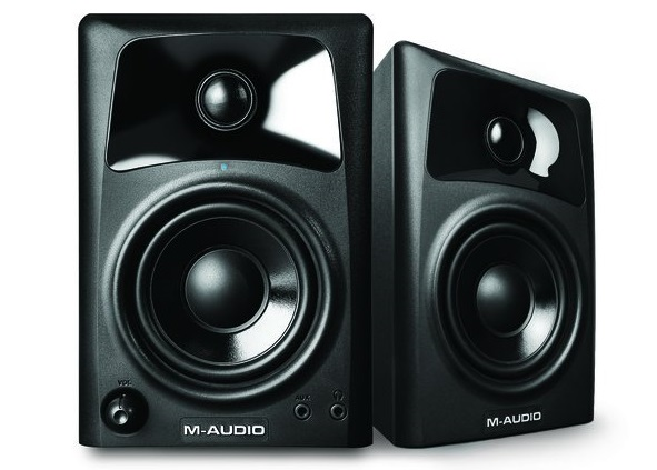 8. 10-Watt Compact Studio Monitor Speakers with 3-inch Woofer (Pair)
