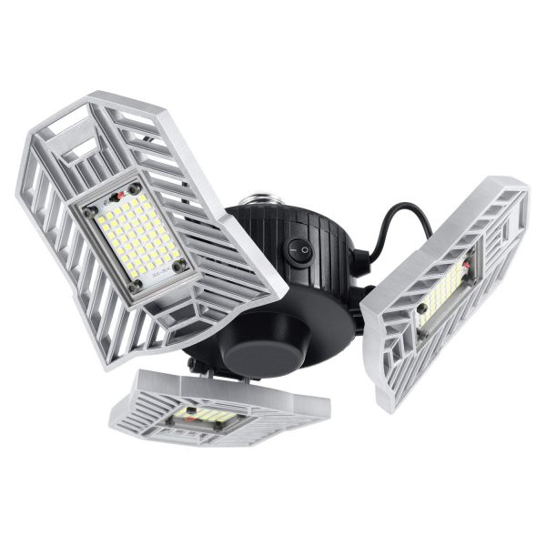8. Kohree Garage Light 60W 6000 Lumen Motion Activated Ceiling Light for Garage
