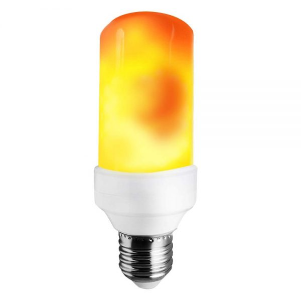 8. LAKES LED Flame Bulb, 1300K True Fire Color, Pack of 1 Unit