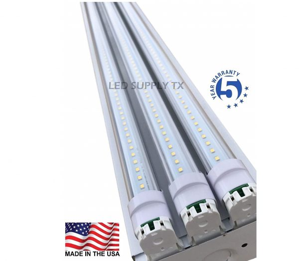 9. 4 Foot 8550 Lumens 66 Watt LED Shoplight Room Work Garage Light Fixture New by PrimeLights